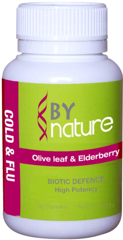 OLIVE LEAF & ELDERBERRY